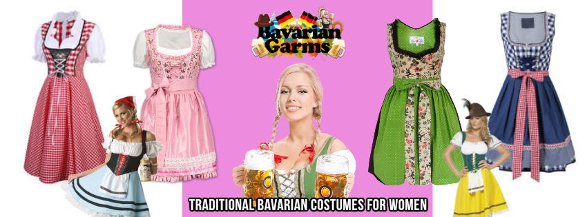 bavarian banner new women