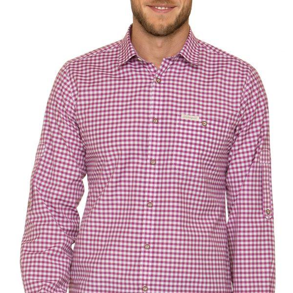 Stockerpoint German Traditional Shirt Long Sleeve Campos3 Kiwi